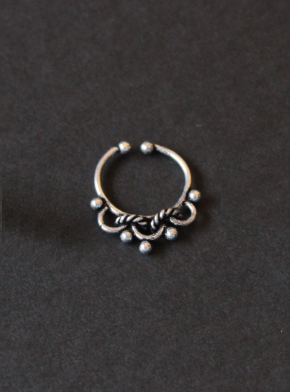German Silver based Septum Ring | kauracious.com