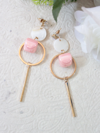 Faux Stone fashion earrings | kauracious.com