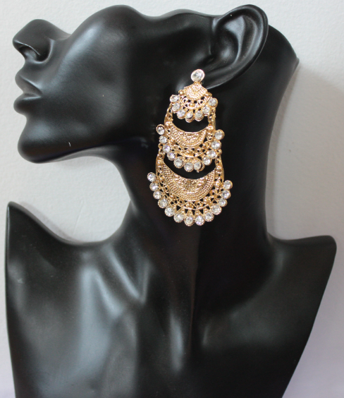 Oxidised tassel Earrings   Kauracious.com