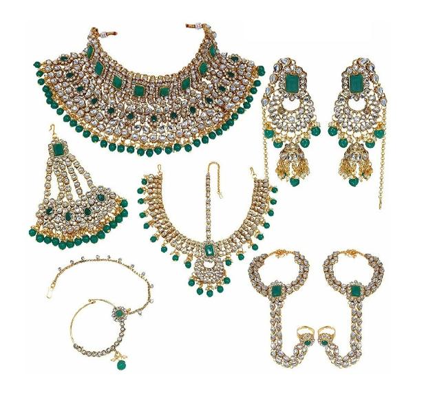 Faux Kundan Studded Bridal Set | kauracious.com