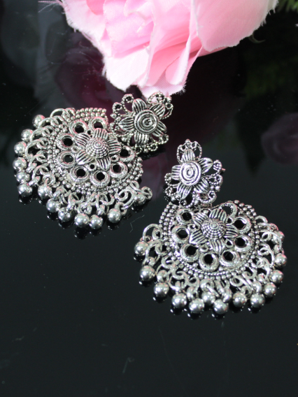 Oxidised Earrings | kauracious.com