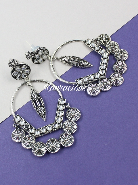 Regular wear oxidised earrings | Kauracious.com