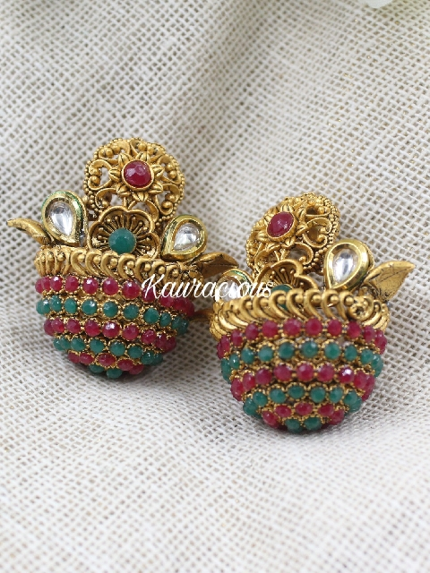 Temple Jewellery Earrings | Kauracious.com