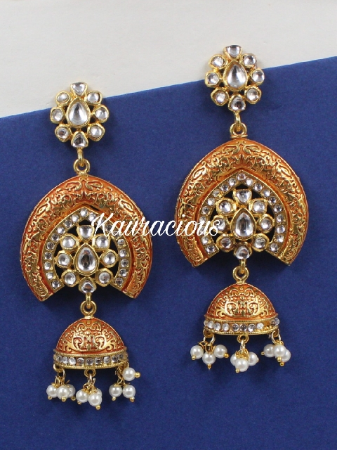 Meenakari Earrings | Kauracious.com