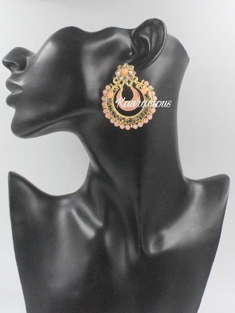 Small Sized Meenakari Earrings | Kauracious.com