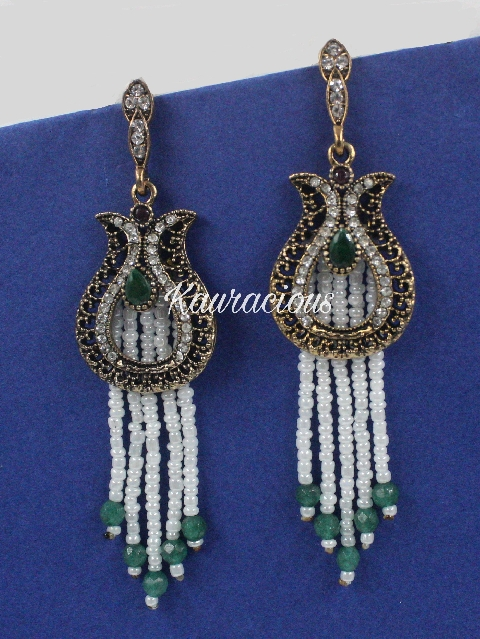 Pearl Layered Earrings | Kauracious.com