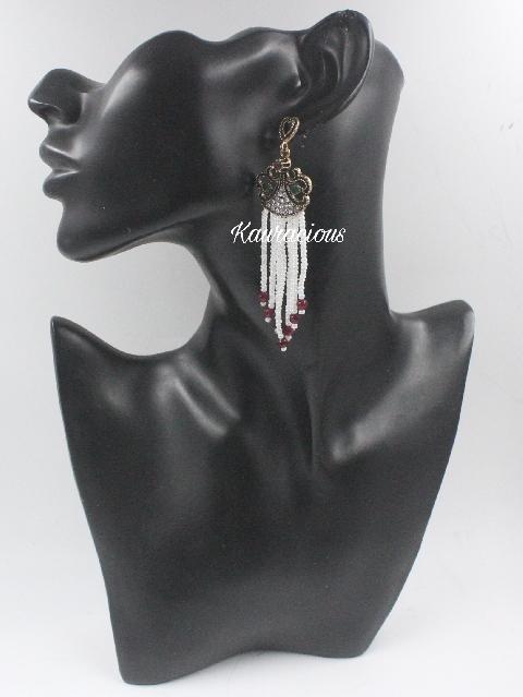 Pearl Layered Earrings | Kauracious.com
