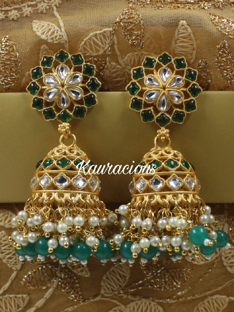 Jhalar Jhumki Earrings | Kauracious.com