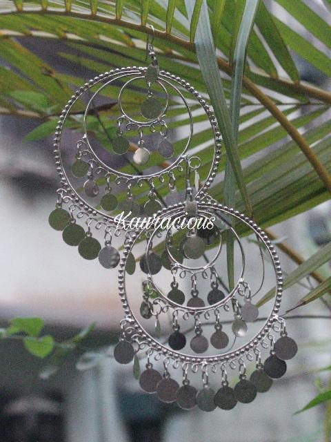 Oversized Chandbali Earrings | kauracious.com