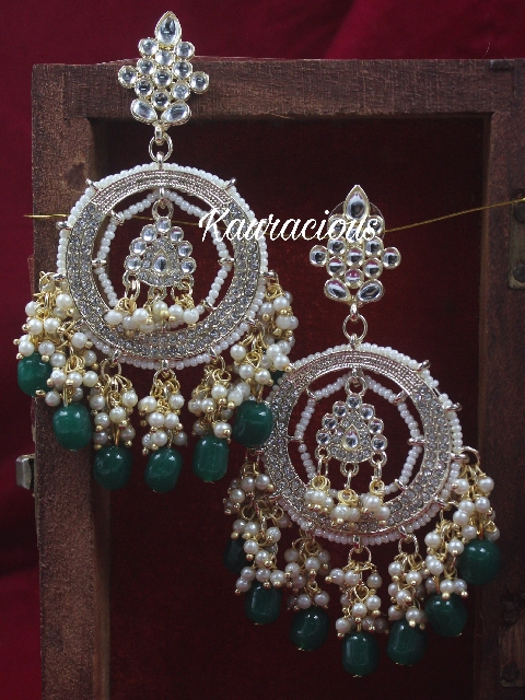 Bahara Traditional Earrings | Kauracious.com