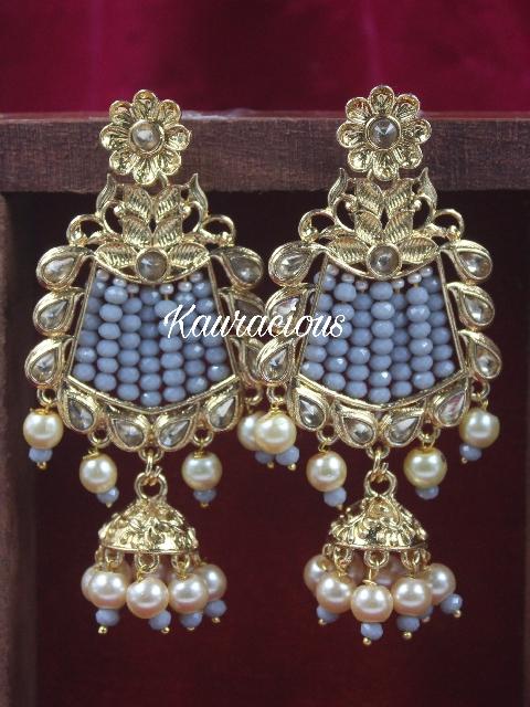 Beads Beaded Traditional Earrings | kauracious.com
