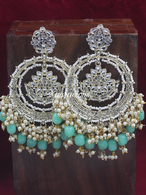 Oversized Bahara Earrings   Kauracious.com