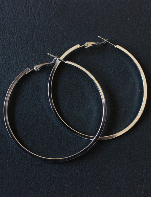 Stainless Steel Hoops  | kauracious.com
